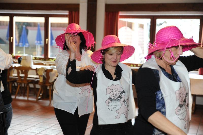 Alemannenhof Hotel Engel - Schweinchenessen